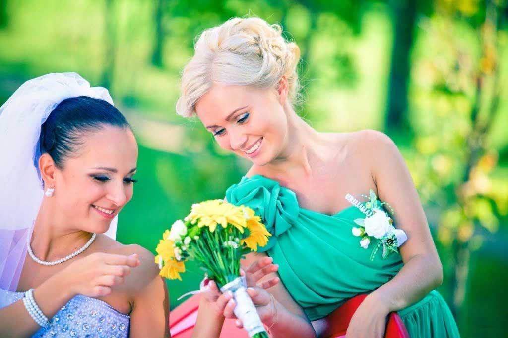 свидетельница на свадьбе обязанности и приметы